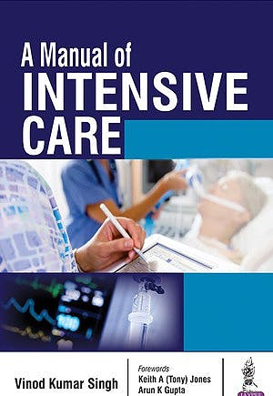 Portada del libro 9789352700851 A Manual of Intensive Care