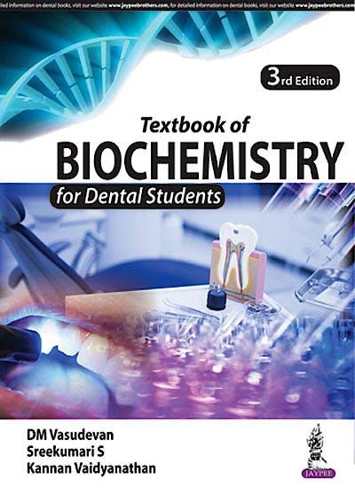 Portada del libro 9789352701148 Textbook of Biochemistry for Dental Students