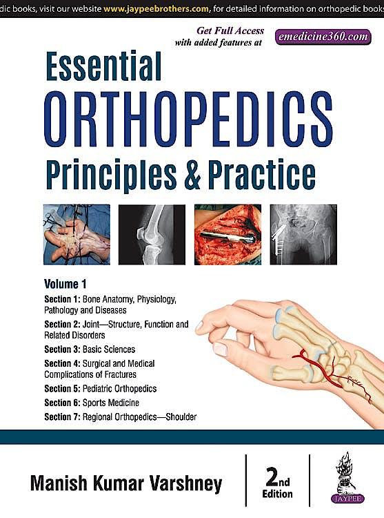 Portada del libro 9789352701995 Essential Orthopedics. Principles and Practice, 2 Vols.