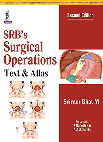Portada del libro 9789352702114 SRB's Surgical Operations. Text and Atlas