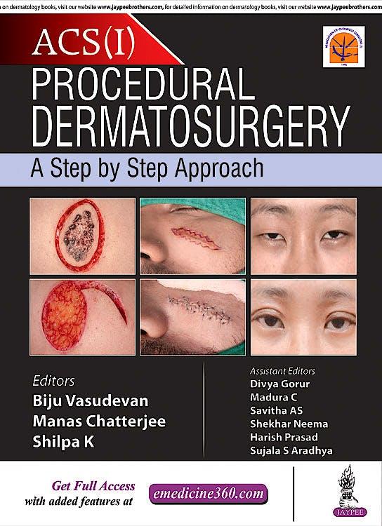 Portada del libro 9789352702121 ACS (I) Procedural Dermatosurgery. A Step by Step Approach