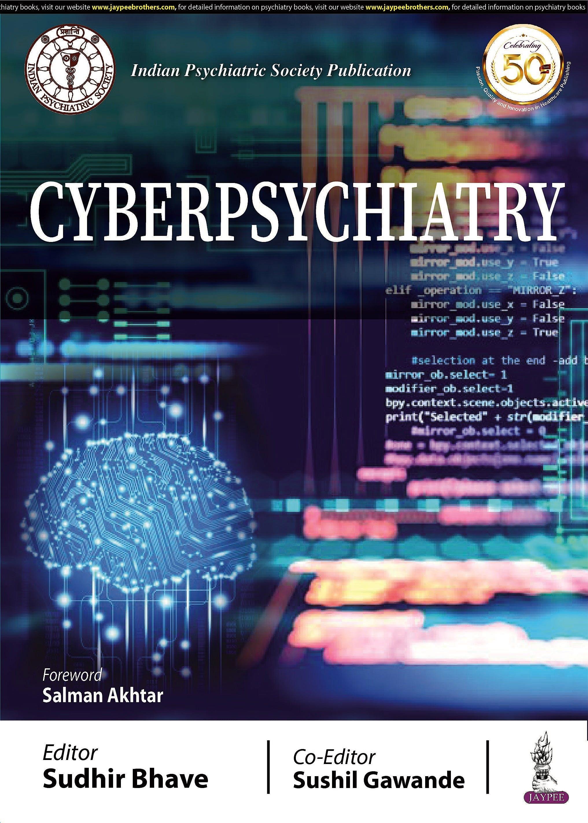 Portada del libro 9789352702176 Cyberpsychiatry