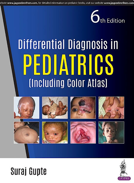 Portada del libro 9789352702473 Differential Diagnosis in Pediatrics