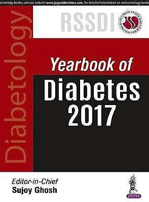 Portada del libro 9789352702848 Yearbook of Diabetes 2017