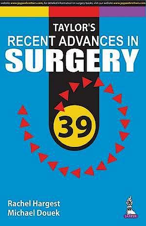 Portada del libro 9789352702862 Taylor's Recent Advances in Surgery, Vol. 39