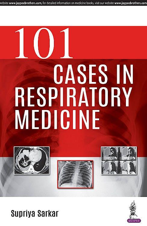 Portada del libro 9789352703111 101 Cases in Respiratory Medicine