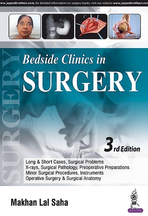 Portada del libro 9789352703142 Bedside Clinics in Surgery