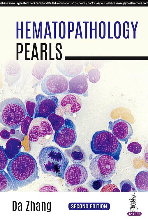 Portada del libro 9789352703234 Hematopathology Pearls