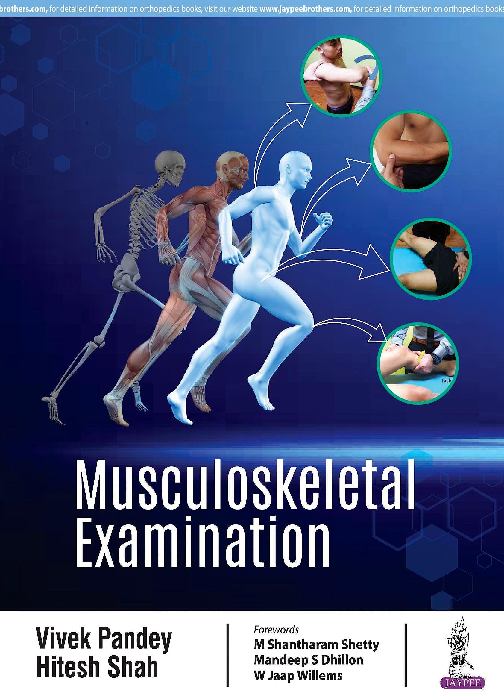 Portada del libro 9789352703296 Musculoskeletal Examination