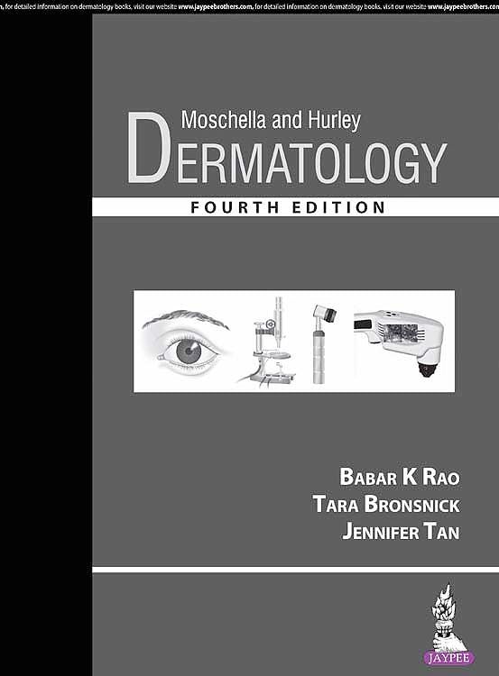 Portada del libro 9789352703586 Moschella and Hurley Dermatology