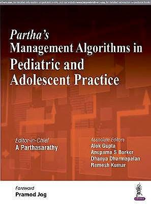 Portada del libro 9789352703838 Partha's Management Algorithms in Pediatric and Adolescent Practice