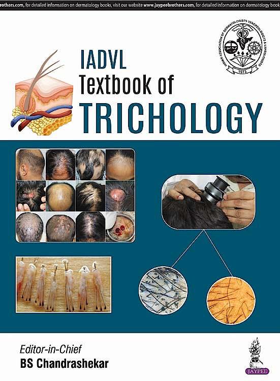 Portada del libro 9789352703913 IADVL Textbook of Trichology