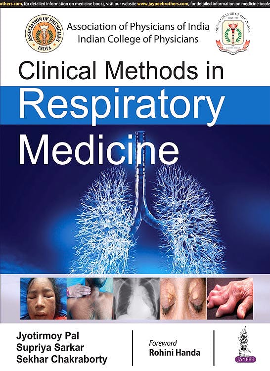 Portada del libro 9789352704507 Clinical Methods in Respiratory Medicine
