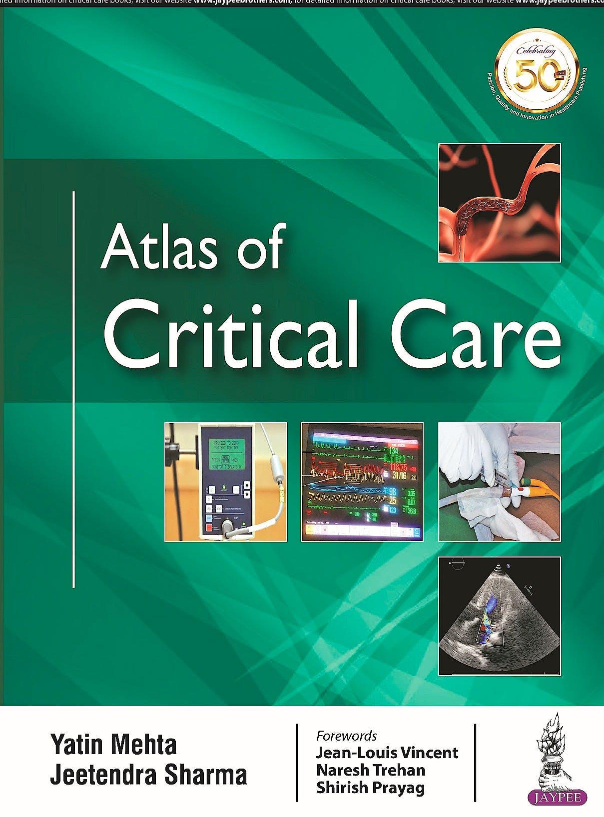 Portada del libro 9789352705016 Atlas of Critical Care