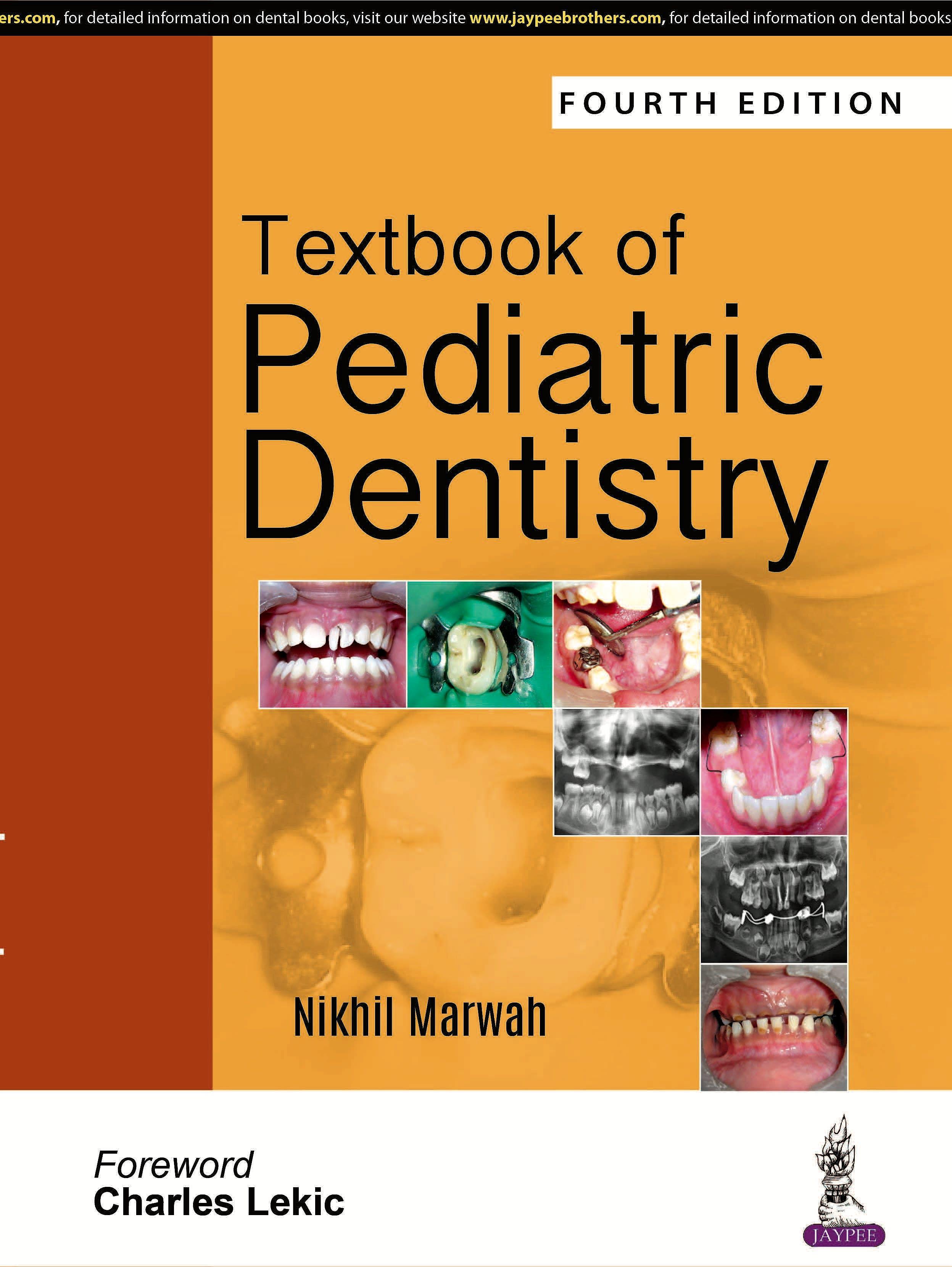 Portada del libro 9789352705290 Textbook of Pediatric Dentistry