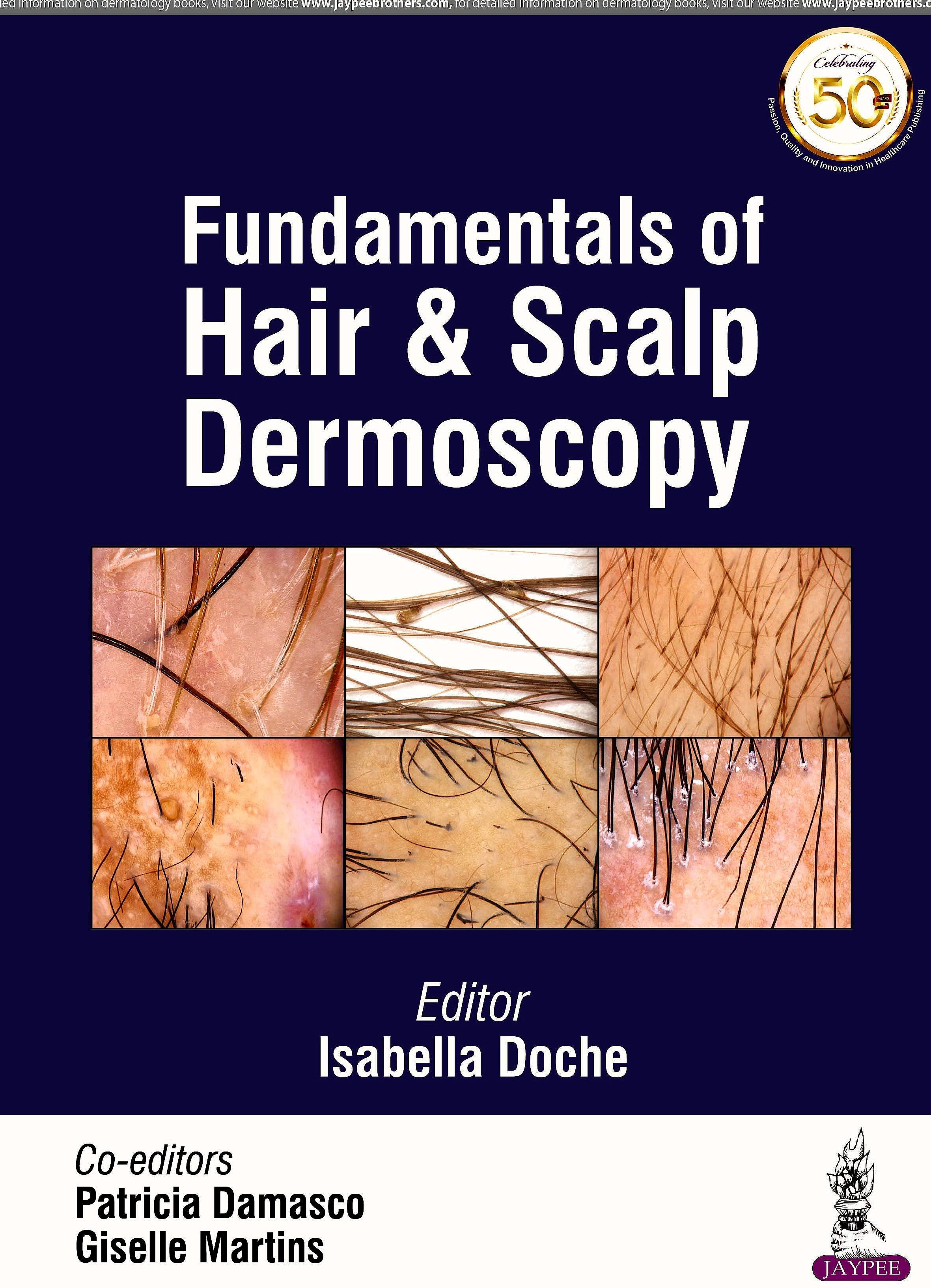 Portada del libro 9789352705610 Fundamentals of Hair and Scalp Dermoscopy