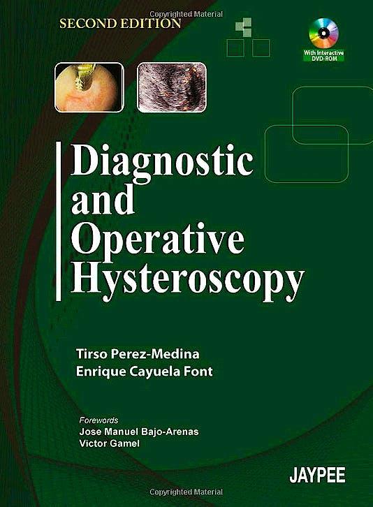 Portada del libro 9789380704692 Diagnostic and Operative Hysteroscopy + Dvd-Rom