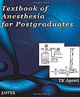 Portada del libro 9789380704944 Textbook of Anesthesia for Postgraduates