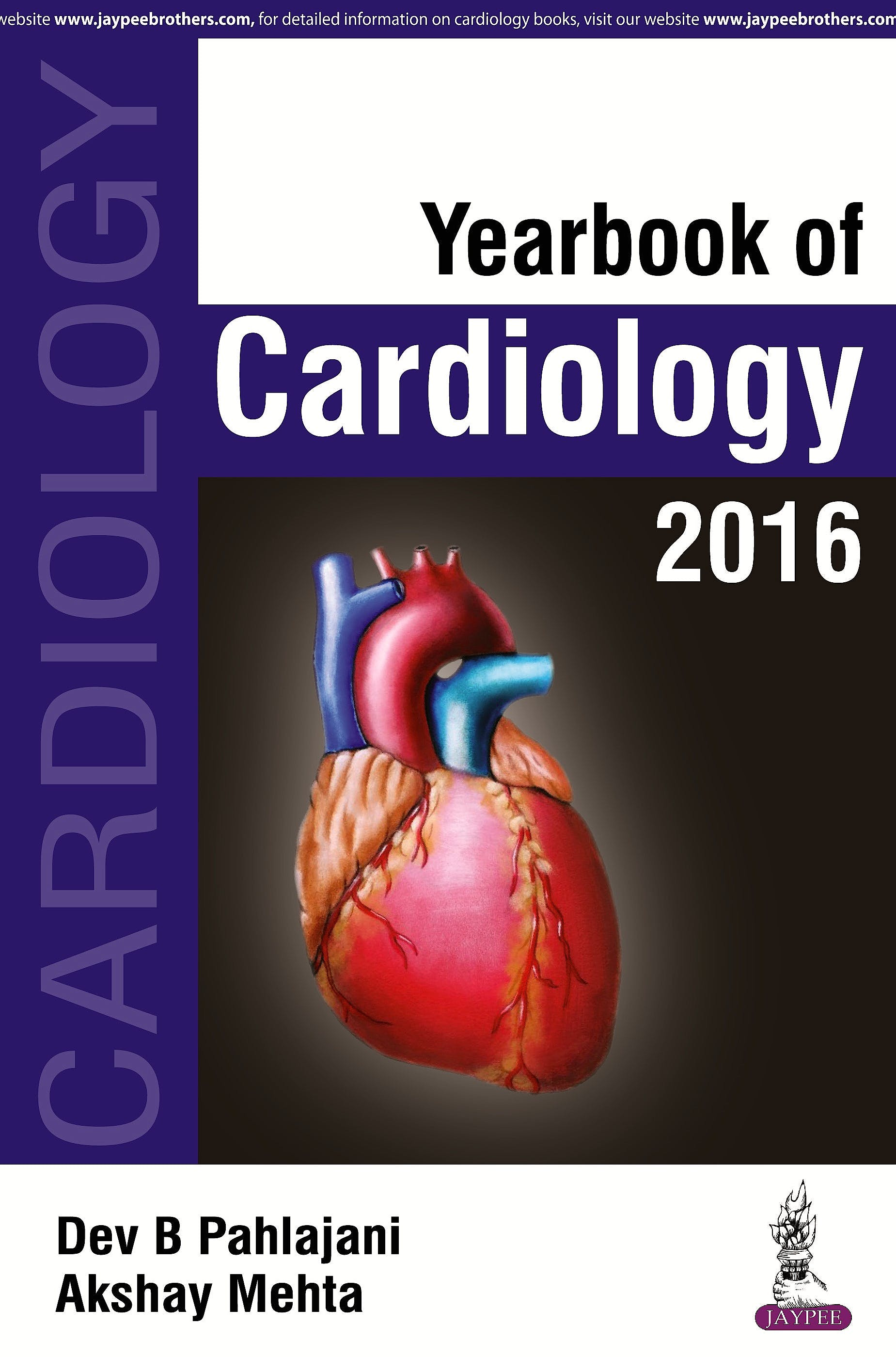 Portada del libro 9789385891083 Yearbook of Cardiology 2016