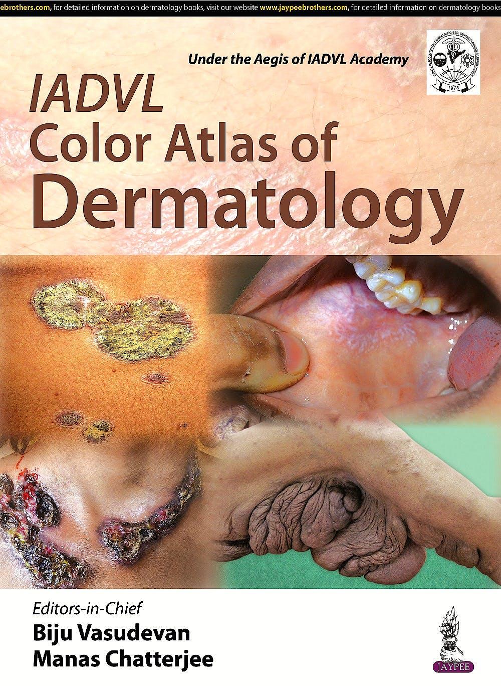 Portada del libro 9789385891212 IADVL Color Atlas of Dermatology