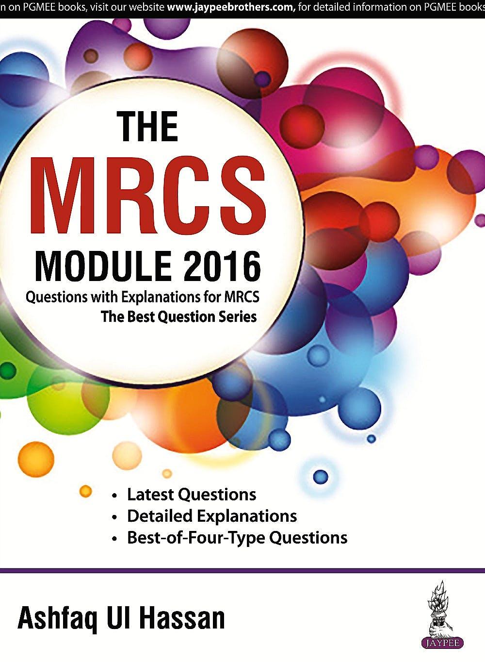 Portada del libro 9789385891274 The MRCS Module 2016