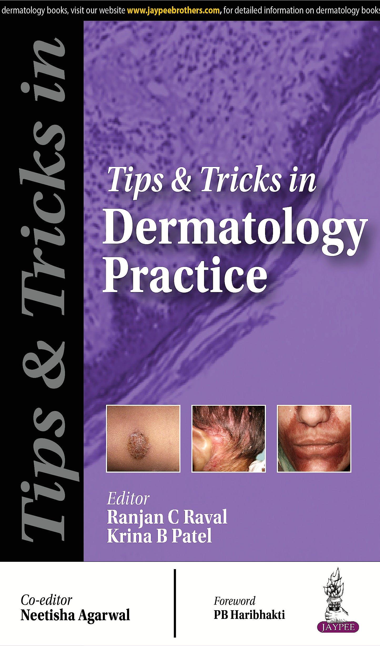 Portada del libro 9789385891601 Tips and Tricks in Dermatology Practice