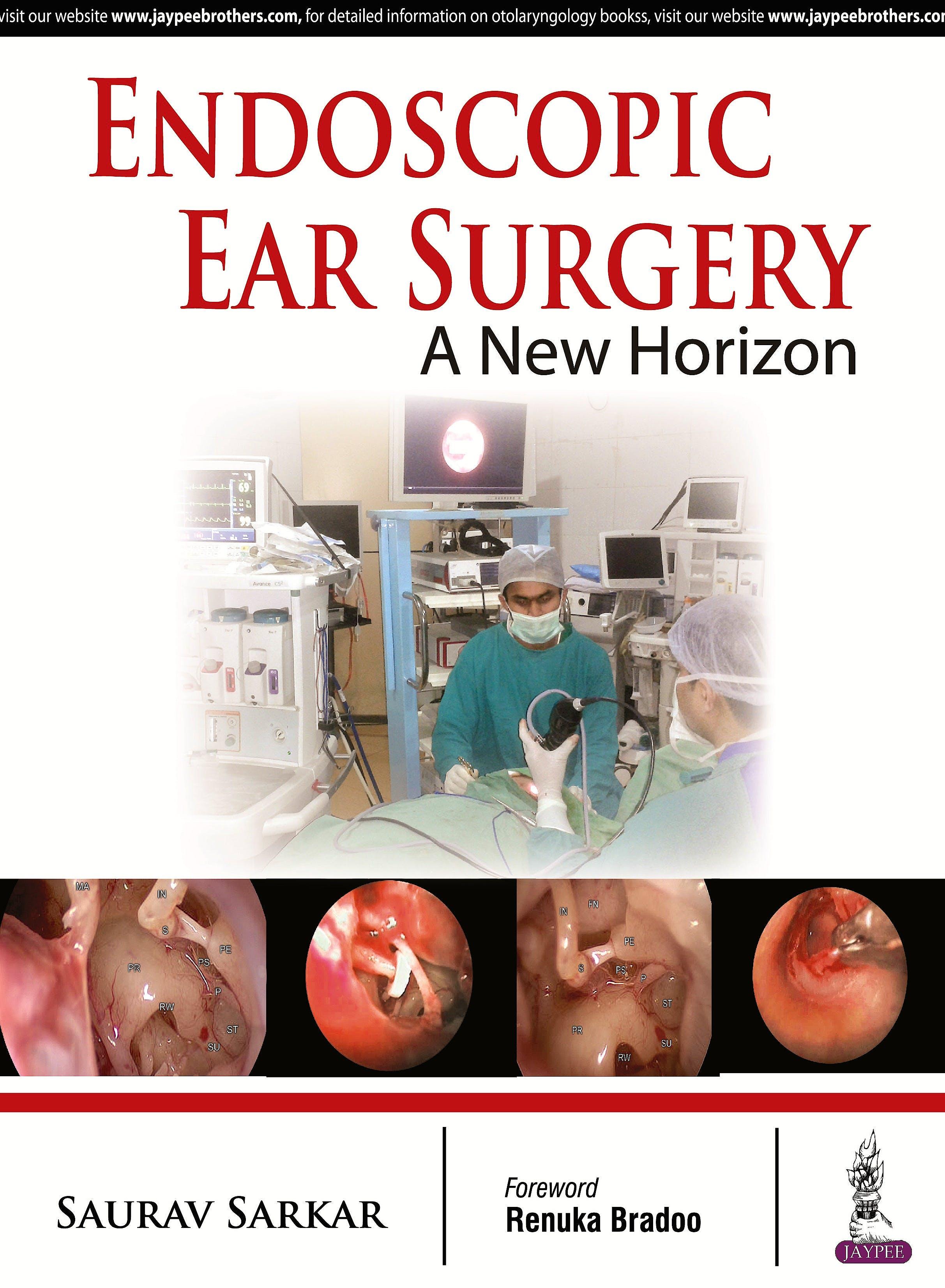 Portada del libro 9789385891625 Endoscopic Ear Surgery. a New Horizon
