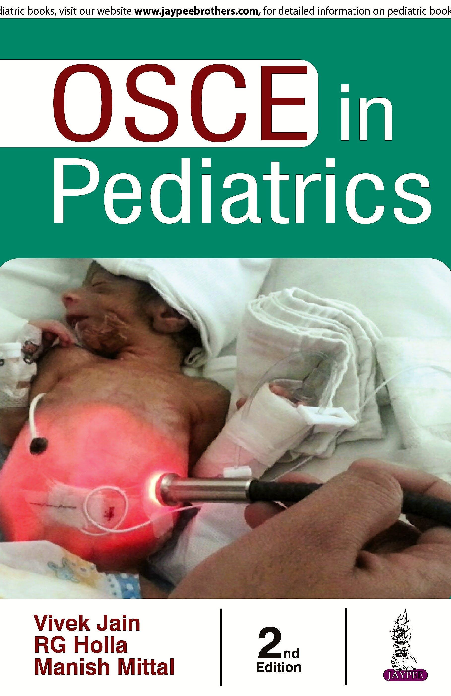 Portada del libro 9789385891670 OSCE in Pediatrics