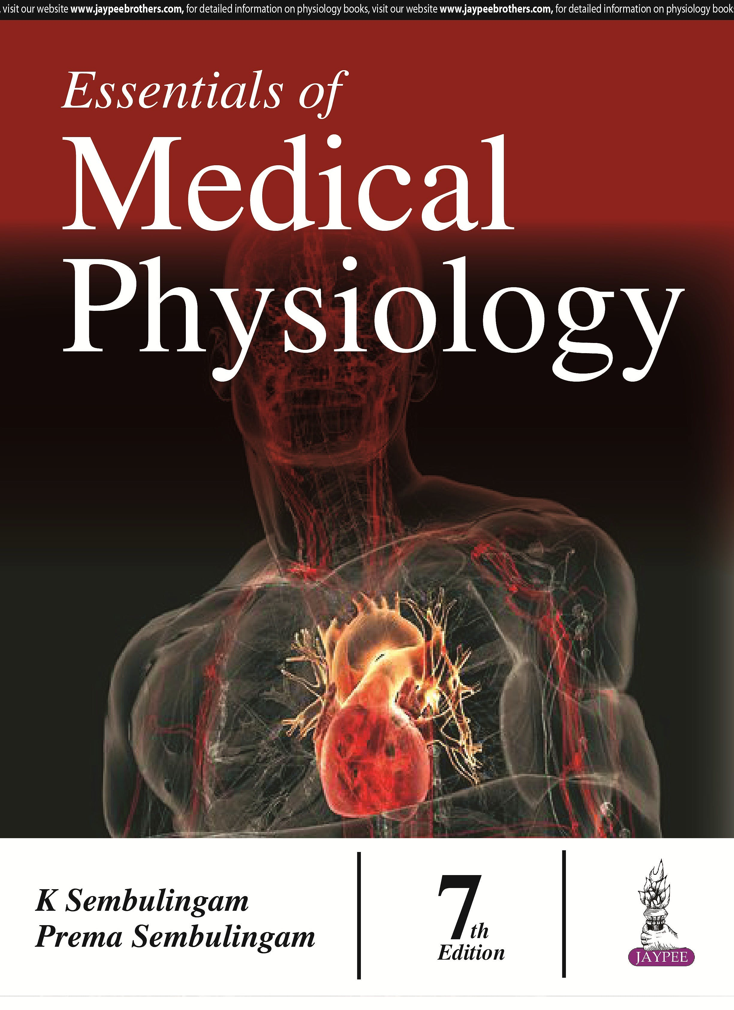 Portada del libro 9789385999116 Essentials of Medical Physiology
