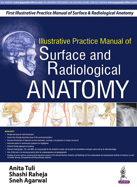 Portada del libro 9789385999154 Illustrative Practice Manual of Surface and Radiological Anatomy