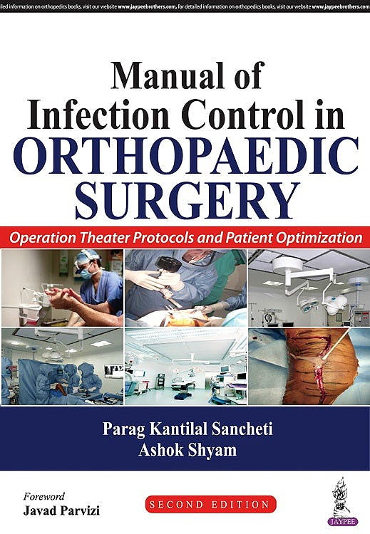 Portada del libro 9789385999307 Manual of Infection Control in Orthopaedic Surgery