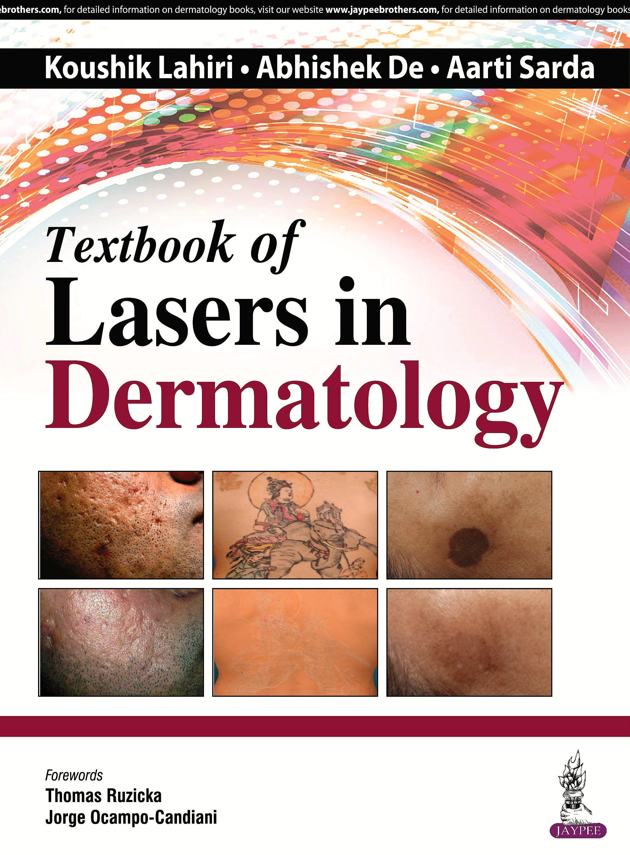 Portada del libro 9789385999628 Textbook of Lasers in Dermatology