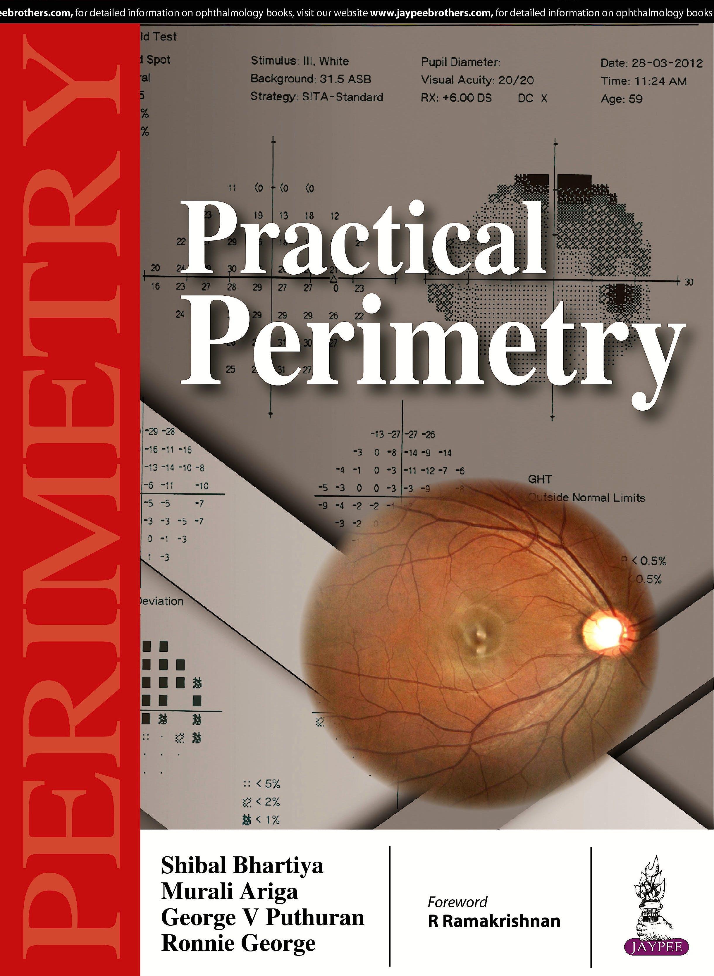 Portada del libro 9789385999680 Practical Perimetry