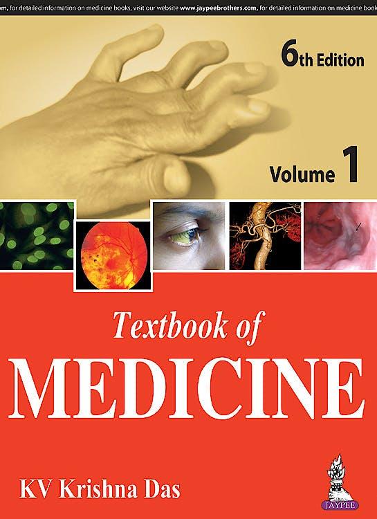 Portada del libro 9789386056108 Textbook of Medicine, 2 Vols.
