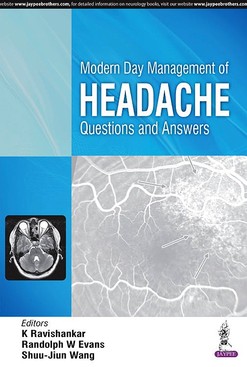 Portada del libro 9789386056276 Modern Day Management of Headache. Questions and Answers