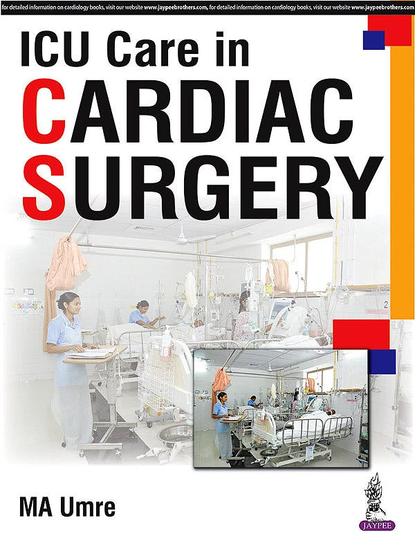 Portada del libro 9789386056702 ICU Care in Cardiac Surgery