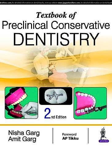 Portada del libro 9789386056832 Textbook of Preclinical Conservative Dentistry