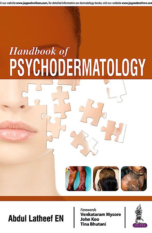 Portada del libro 9789386056887 Handbook of Psychodermatology