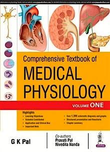 Portada del libro 9789386056979 Comprehensive Textbook of Medical Physiology, 2 Vols.