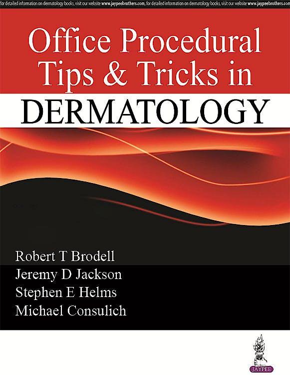 Portada del libro 9789386107046 Office Procedural Tips and Tricks in Dermatology