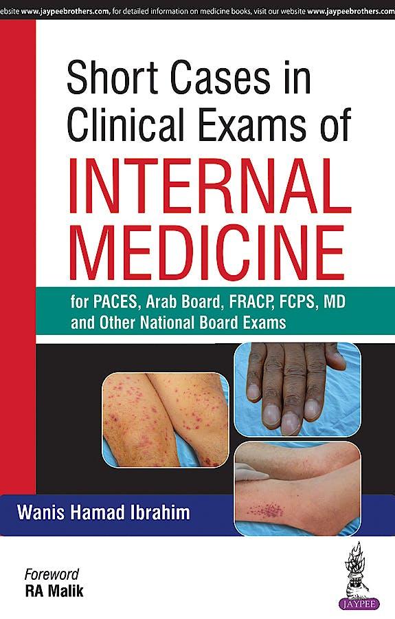 Portada del libro 9789386150035 Short Cases in Clinical Exams of Internal Medicine