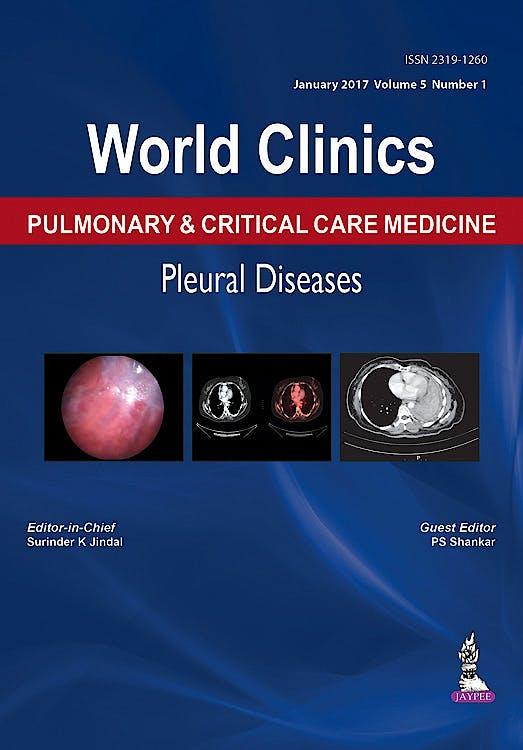 Portada del libro 9789386150837 World Clinics Pulmonary and Critical Care Medicine. Pleural Diseases