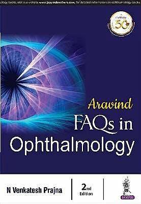 Portada del libro 9789386261090 Aravind FAQs in Ophthalmology