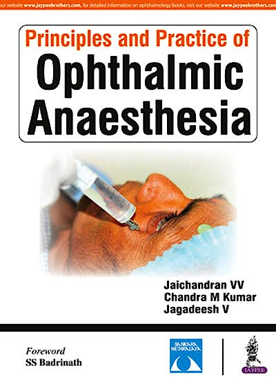 Portada del libro 9789386261236 Principles and Practice of Ophthalmic Anaesthesia