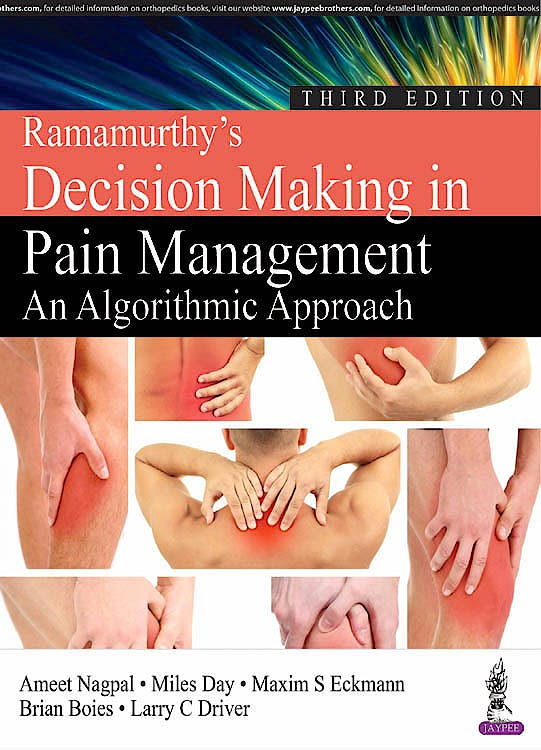 Portada del libro 9789386261458 Ramamurthy's Decision Making in Pain Management