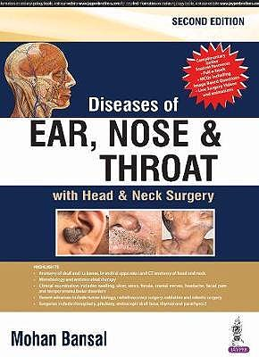 Portada del libro 9789386261519 Diseases of Ear, Nose and Throat with Head and Neck Surgery