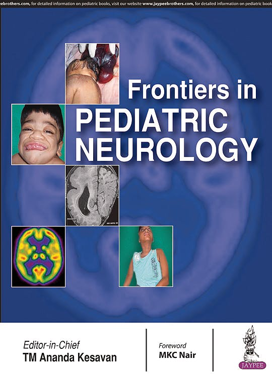 Portada del libro 9789386261755 Frontiers in Pediatric Neurology