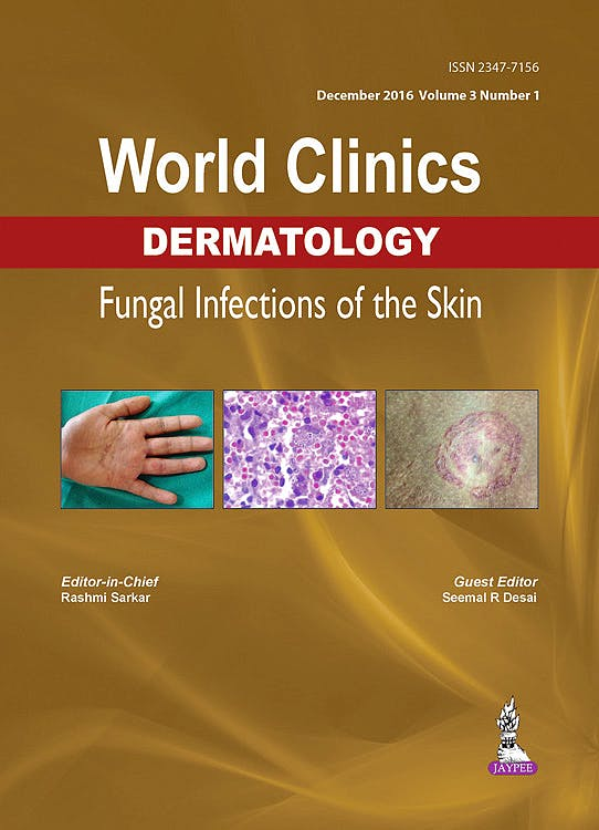 Portada del libro 9789386322104 World Clinics Dermatology. Fungal Infections of the Skin
