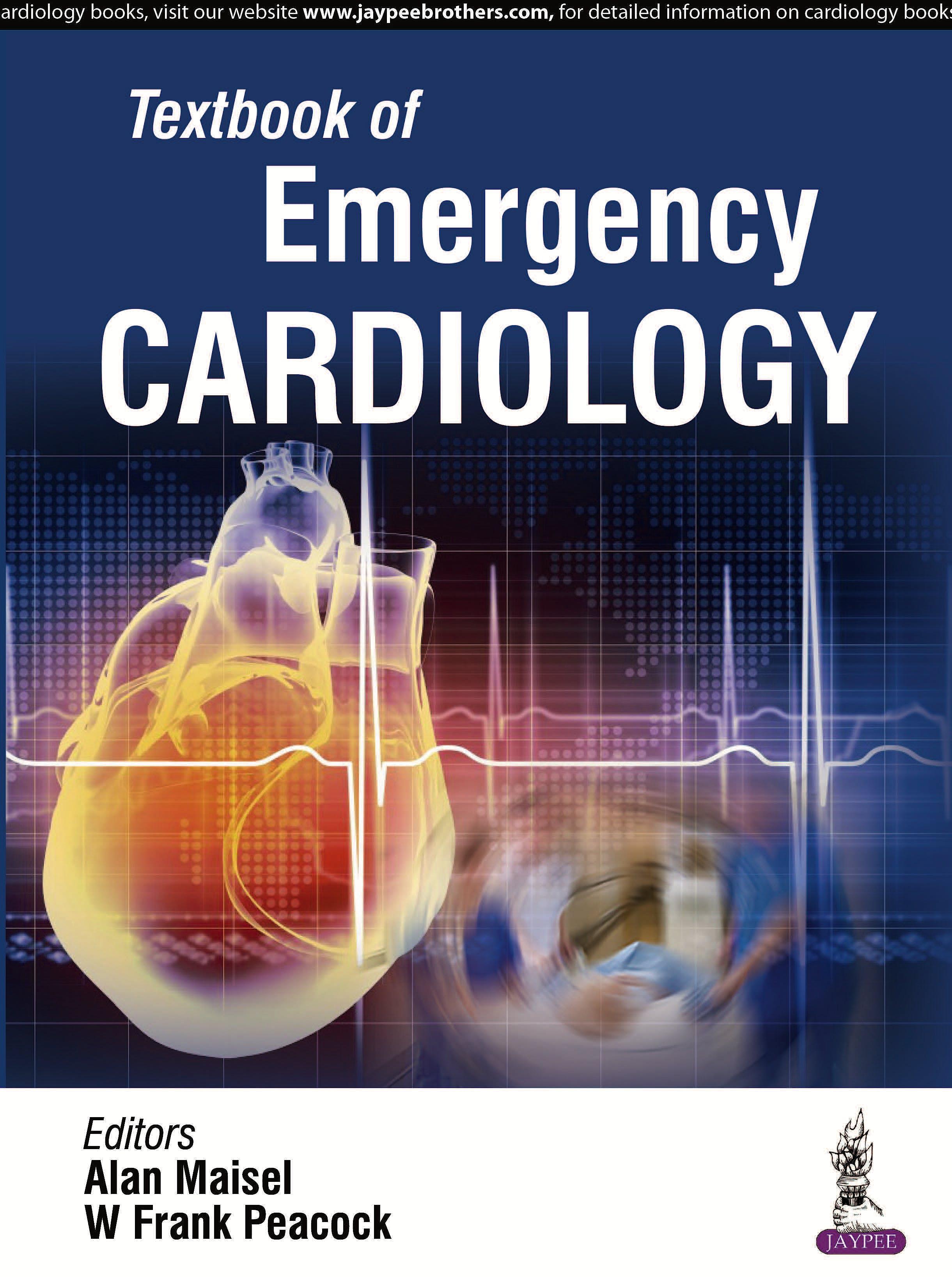 Portada del libro 9789386322241 Textbook of Emergency Cardiology