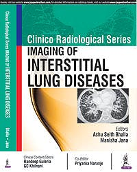 Portada del libro 9789386322517 Imaging of Interstitial Lung Diseases (Clinico Radiological Series)